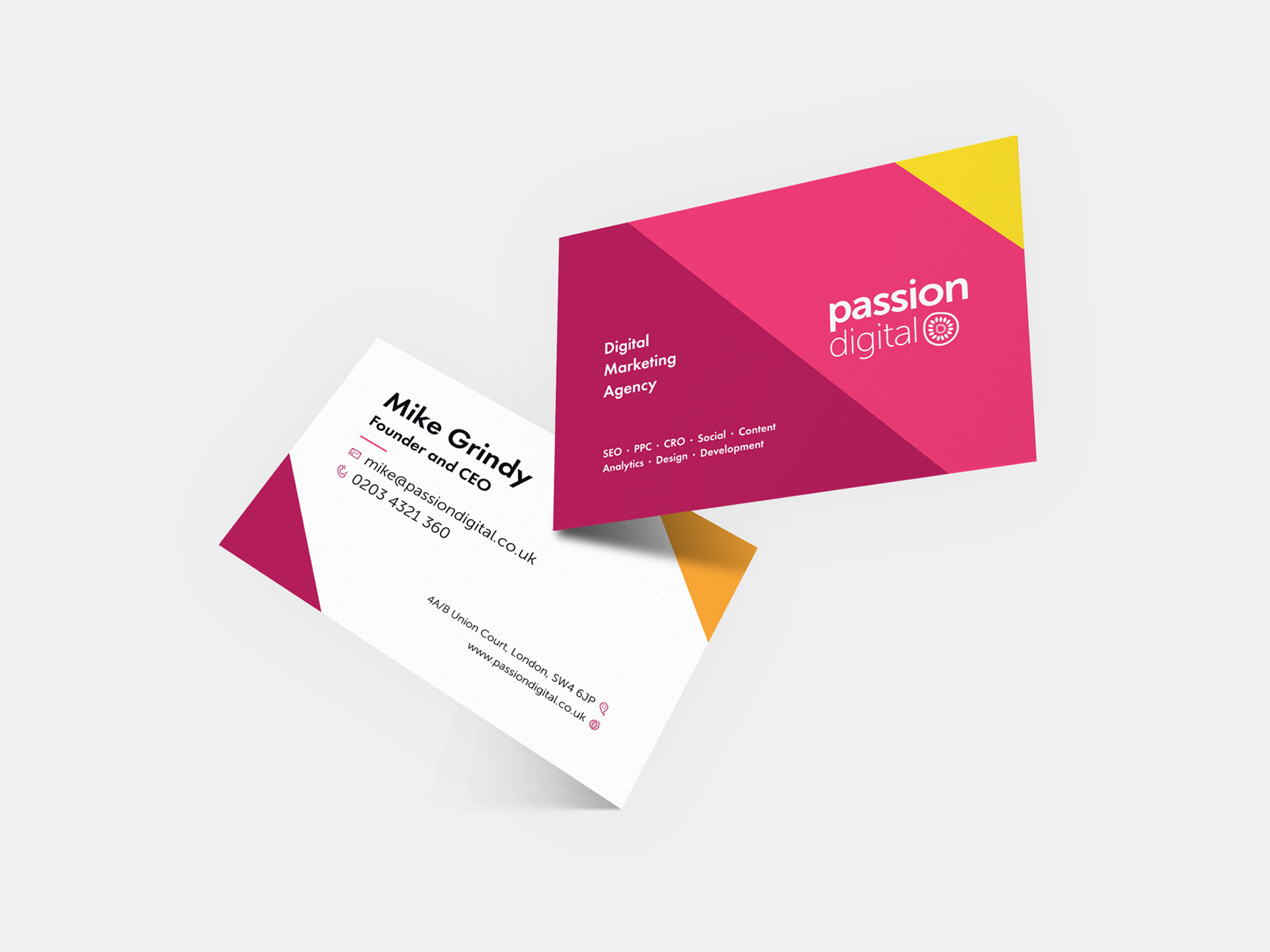 Passion Digital - Business Card