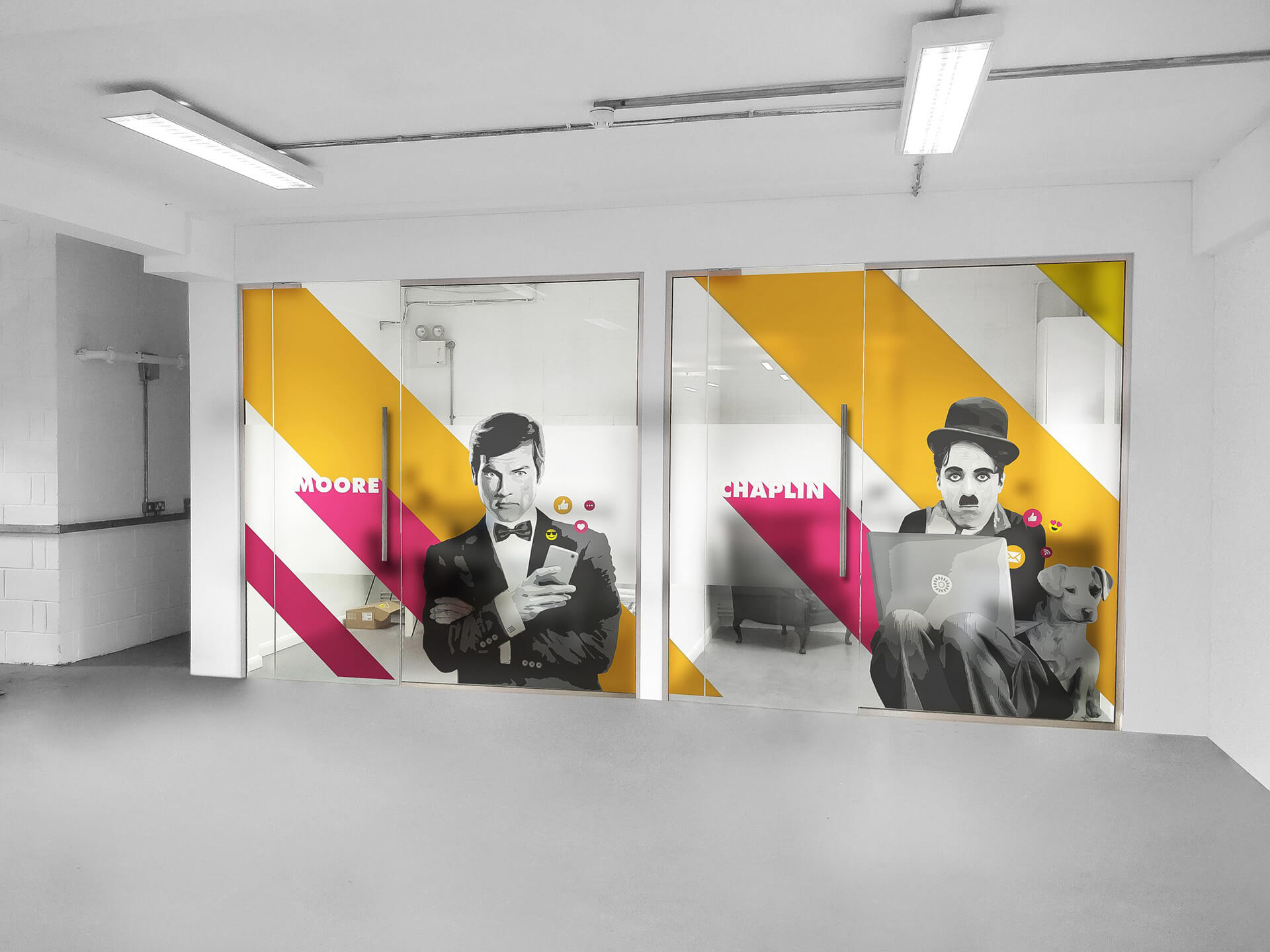 Passion Digital - Moore and Chaplin Rooms